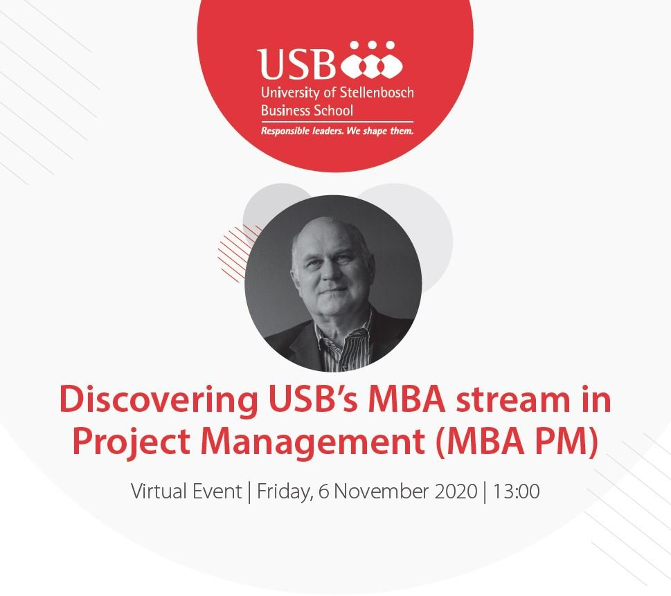 MBA Project Management Info Session 2020