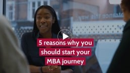 When is the right time in your career to do your MBA