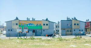 Langa, one of the many townships on the outskirts of Cape Town