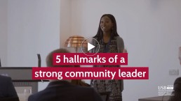strong community leadership